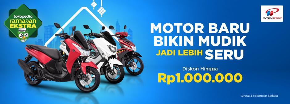 Berkendara Dengan Motor Yamaha, Bayarnya Tetap Hemat. Diskon Rp1.000.000
