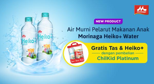 Berikan Yang Terbaik Untuk si Buah Hati, Dengan Morinaga Heiko+ Water