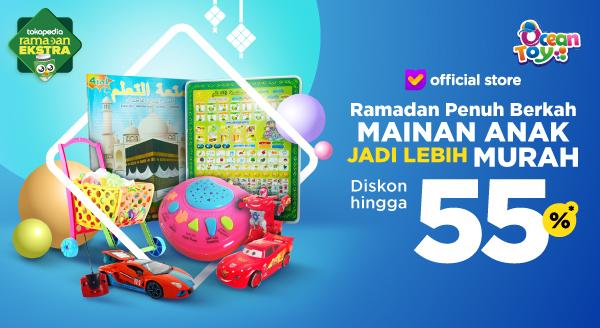 Diskon s.d 55% Mainan Si Kecil Spesial Ramadan
