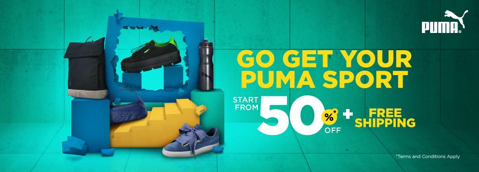 Belanja Puma Sport di Official Store. Diskon Mulai Dari 50% & Gratis Ongkir.
