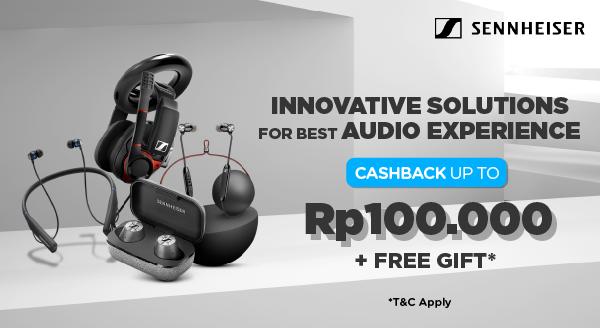Promo Terbatas. Audio Eksklusif untuk Pencinta Musik, Cashback hingga Rp100.000