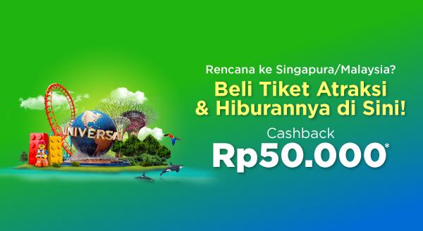 Kamu Bisa Beli Tiket Hiburan Luar Negeri di Tokopedia!