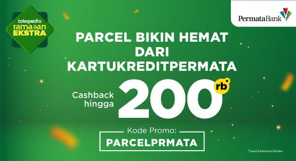 Belanja THR Dapat Cashback up to Rp200.000 Pakai Kartu Kredit Bank Permata