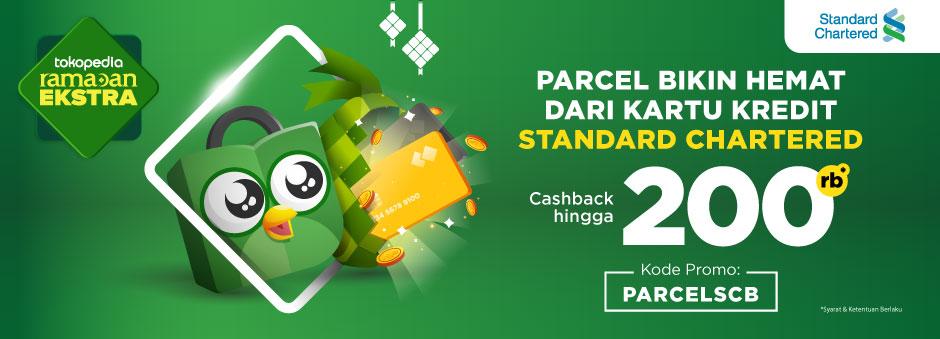 Belanja THR Dapat Cashback up to Rp200.000 Pakai Kartu Kredit Standard Chartered
