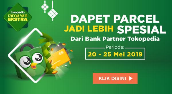 Parcel, Promo Cashback Lebaran dari Bank Partner