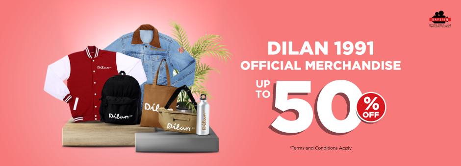 Pencinta Dilan 1991 Wajib Punya Official Merchandise Favorit Diskon s.d 50%