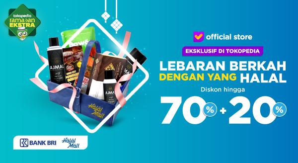 Dapatkan Diskon Hingga 70% Untuk Semua Kebutuhan Lebaran di Halal Mall.