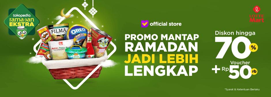 Persiapkan Kebutuhan Ramadan Dengan Promo LotteMart Spesial, Diskon s.d 70%