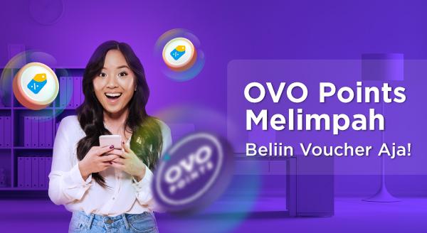 Gunakan OVO Points  Saat Beli Voucher Makan