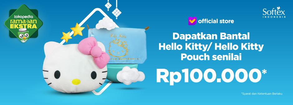 Dapatkan Bantal Hello Kitty / Hello Kitty Pouch