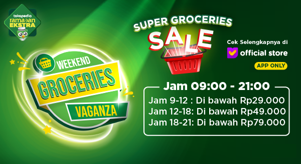 Super Sale Weekend Groceries Vaganza di Official Store
