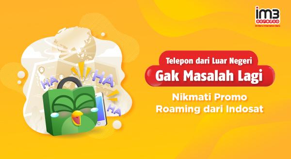 Nikmati Promo Roaming Dari Indosat
