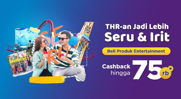 Transaksi Produk Entertainment Ramadan, Cashback!