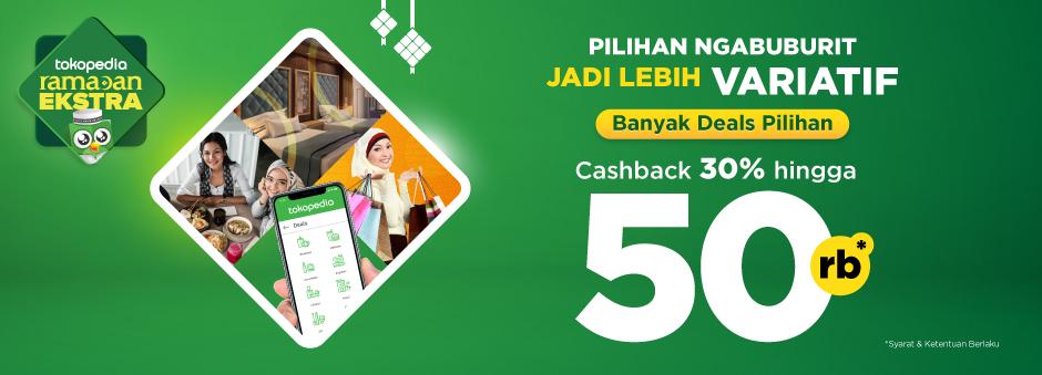 Yuk, Beli Voucher Deals di Sini, Raih Cashback hingga 50 Rb!