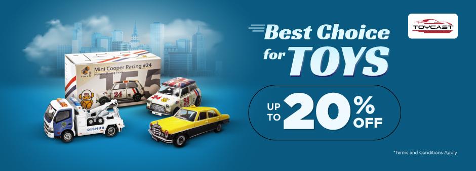 Lengkapi Koleksi Miniatur Mobilmu Sekarang, Diskon hingga 20% di Sini!