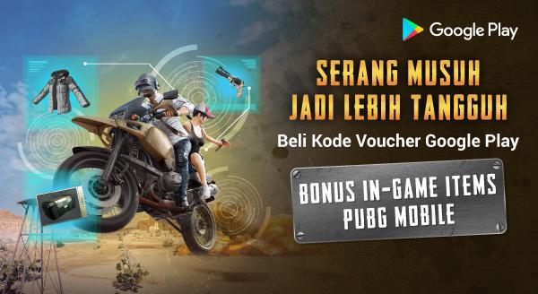 Nikmati Bonus In-Game Items PUBG Mobile di Tokopedia