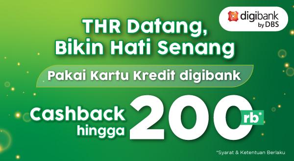 Promo digibank untuk Sambut Lebaran dengan Cashback hingga Rp200.000