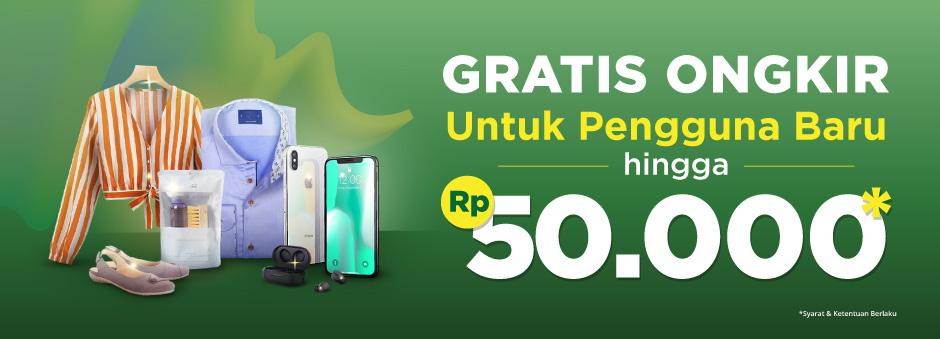 Mulai Belanja di Marketplace & Official Store Dapatkan Gratis Ongkir hingga Rp50.000