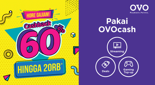Gajian Makin Untung Transaksinya Pakai OVO!