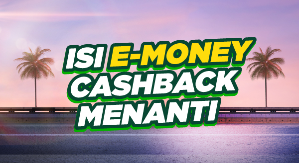 Lupa Isi e-Money, Top-up di Sini!