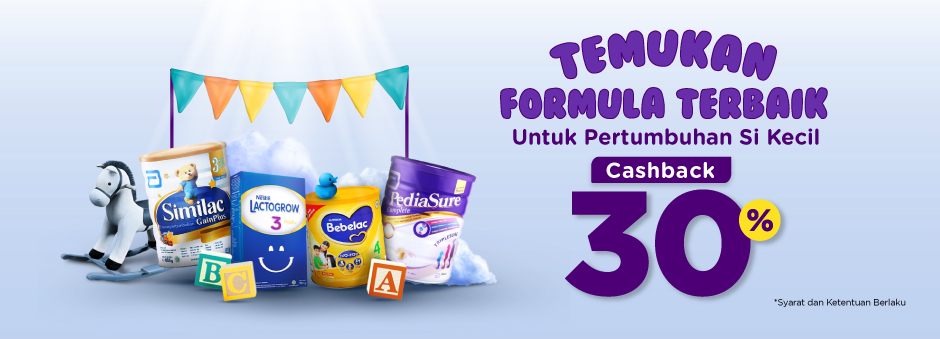 Promo Susu Pediasure untuk Tumbuh Kembang Si Buah Hati!