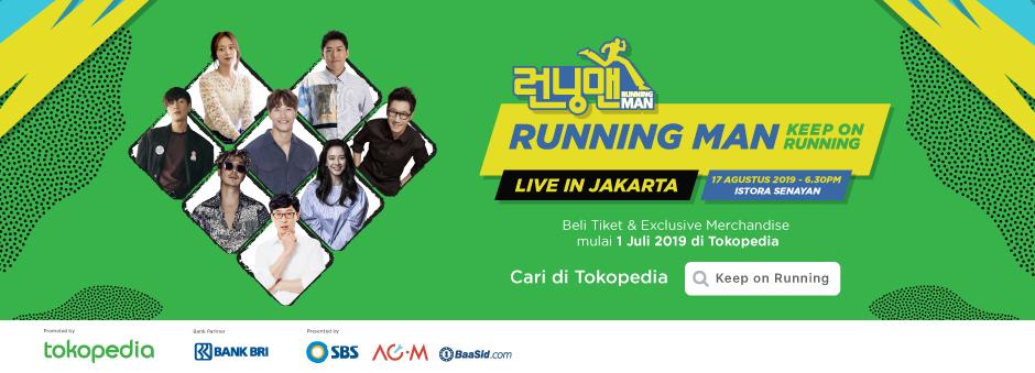 Promo Tiket Running Man – Tokopedia
