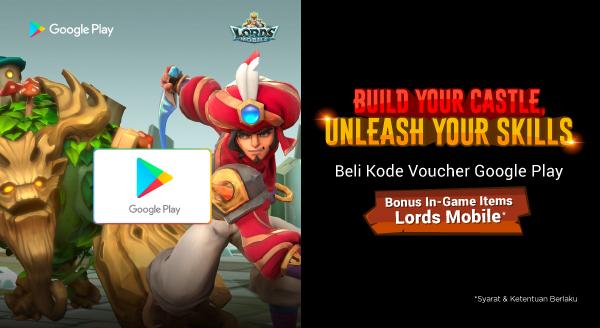 Dapatkan Bonus In-Game Items Lords Mobile mu di Sini!