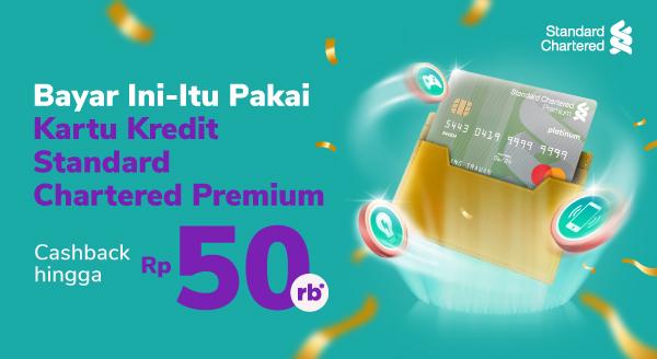 Bayar Kebutuhan dengan Kartu Kredit Standard Chartered