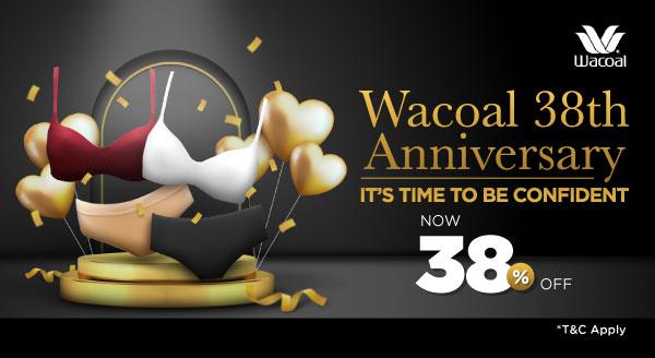 Diskon 38% dari Wacoal, Tampil Pede Gak Jadi Soal!