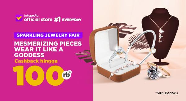 Harga Temukan Perhiasan Elegan di Sini, Cashback s.d Rp1