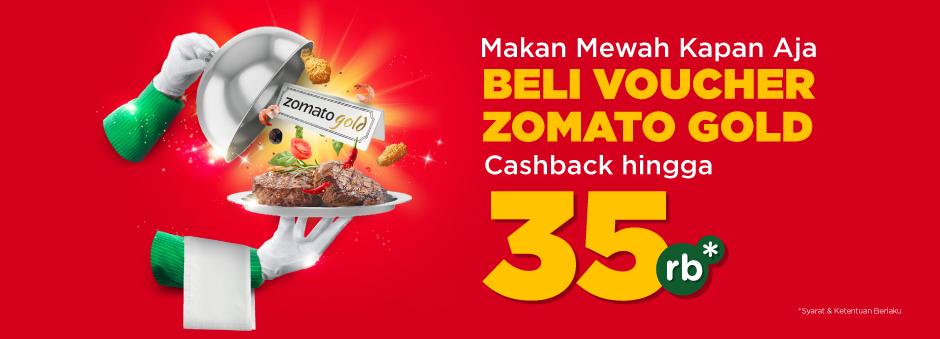Beli Deals Zomato Gold di Tokopedia, Makan Enak Bisa Kapan Aja!