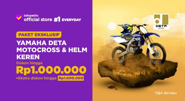 Harga Beli Motor Trail Yamaha Bonus Helm Keren & Di