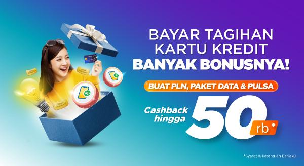 Promo Tagihan Kartu Kredit Online: Bayar Tagihan Kartu Kredit Bonus Menanti