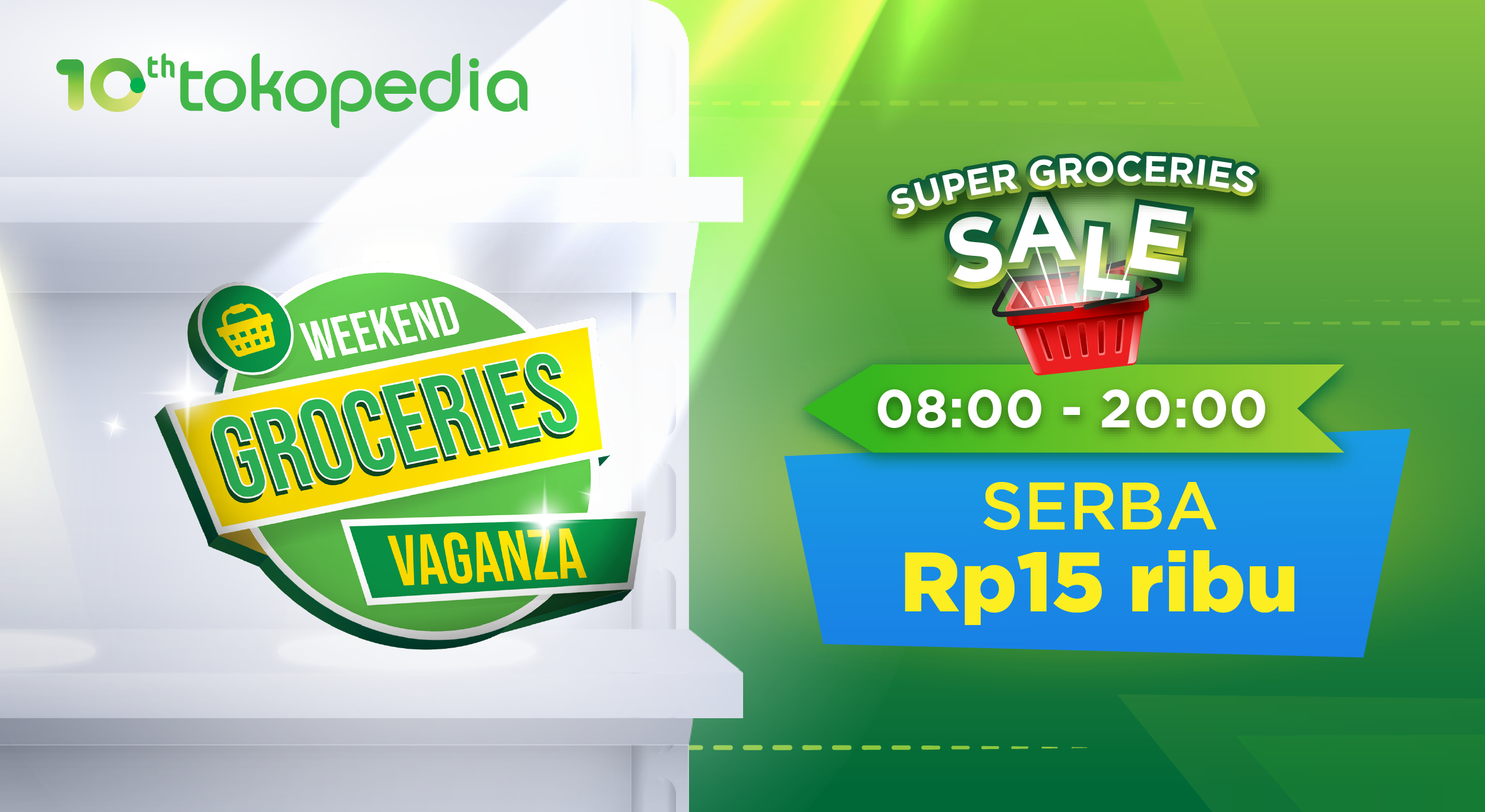 Flash Sale Weekend Groceries Vaganza di Official Store