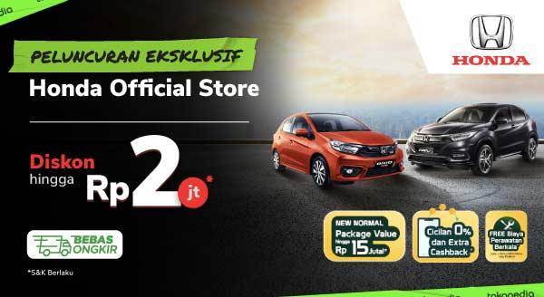 Cari Mobil Baru di Honda Official Store Aja! Diskon s.d Rp2 Juta