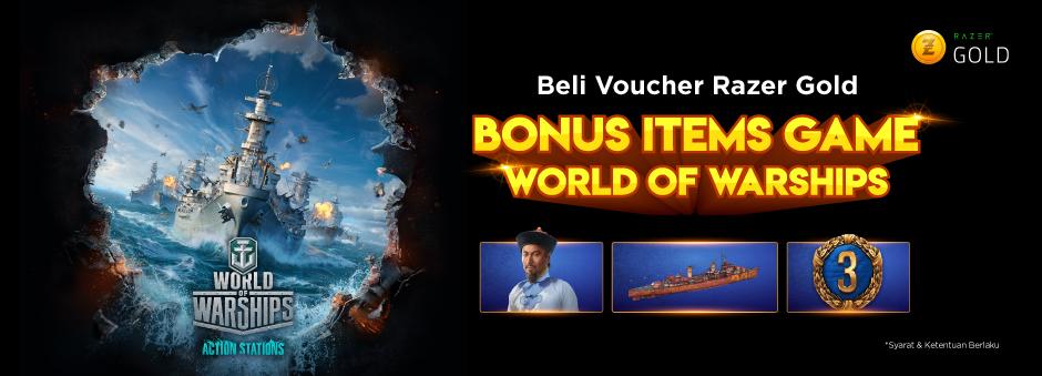 Beli Voucher Razer Gold Banyak Bonusnya!