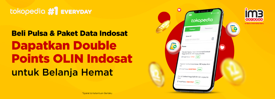 Promo Double Points Indosat