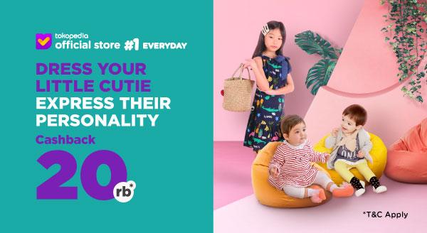 Harga Anak Tampil Menggemaskan dengan Koleksi Baju Lucu