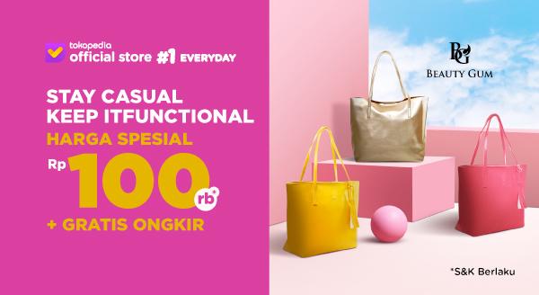 Harga Tote Bag dari Beauty Gum Cuma Rp100 Ribu + Gratis