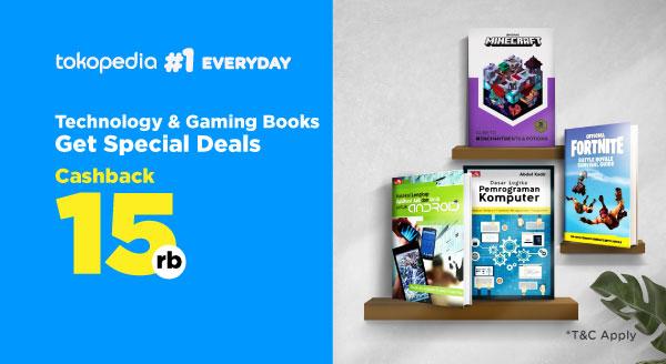 Buku Gaming & Teknologi, Tambahkan Diri Informasi. Harga Spesial!