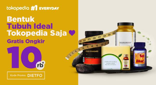 Harga Belanja Produk Diet, Nikmati Promo Gratis Ongkir