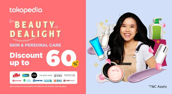 Harga Diskon untuk Beauty Tools & Perawatan Rambutm