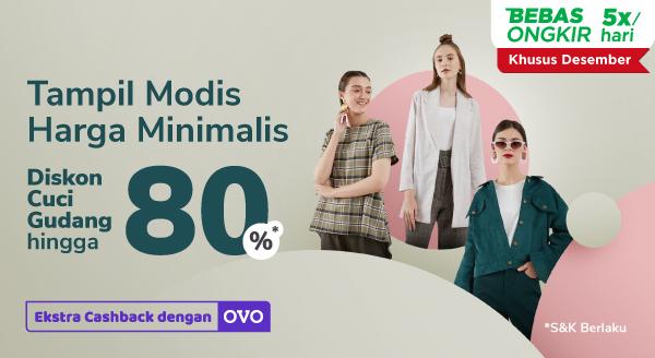Koleksi Fashion dari Beragam Brand Favoritmu, Diskon s.d 80% di Sini