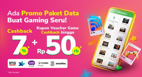 Promo Paket Data x Gaming!