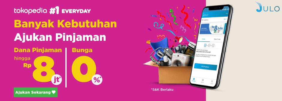 Ajukan Pinjaman Dengan Promo Julo Pinjaman Online Tokopedia
