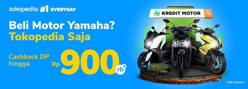Promo Kredit Motor: Beli Motor Yamaha? Cicil di Tokopedia Saja!