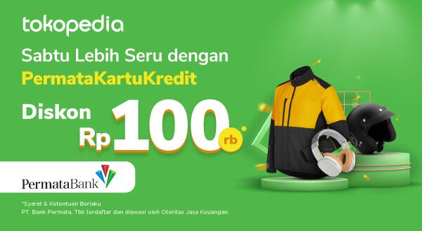 Belanja Setiap Sabtu, Dapatkan Diskon Rp 100.000 dengan PermataKartuKredit!