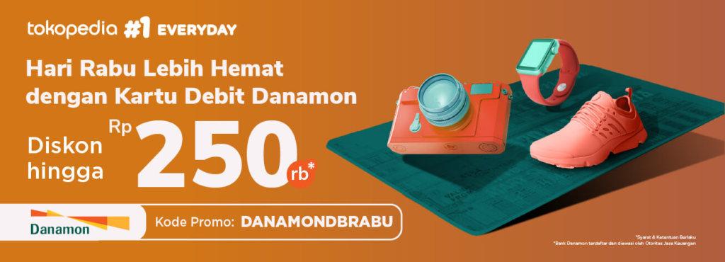 Pakai Promo Danamon Di Tokopedia Dan Rasakan Manfaatnya Telunjuk Com