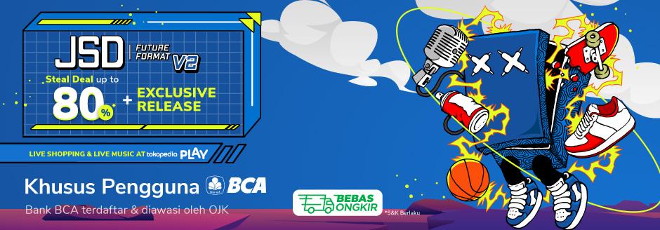 JSD 2.0 Diskon Rp100.000,- dengan BCA