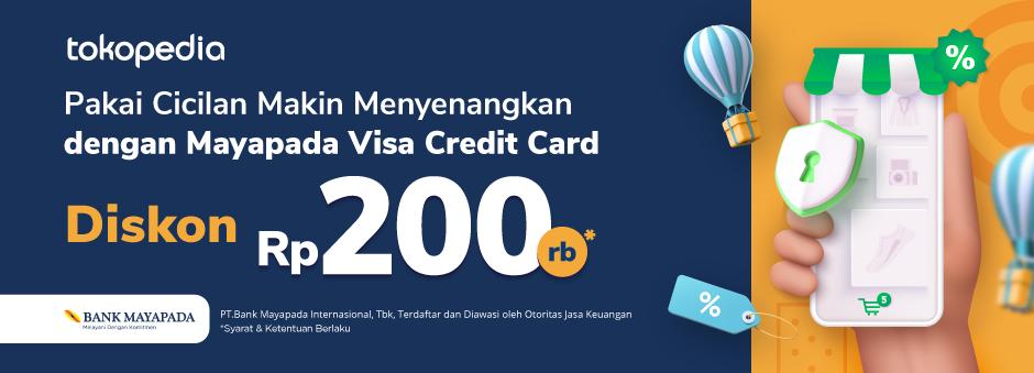 Belanja Lebih Hemat Dengan Cicilan Mayapada Visa Credit Card!